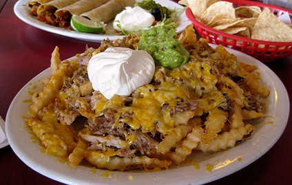 Off-the-menu carnitas fries. - JENNIFER FUMIKO CAHILL