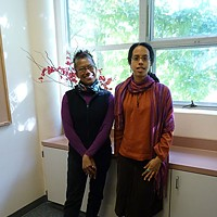 Studies in Race Office of Diversity and Inclusion Faculty Director Patty Yancy and Associate Director Radha Webley.
