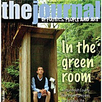 In The Green Room On the cover: Actor Jeremy Strong in 'Humboldt  County.' Photo courtesy Magnolia Pictures.