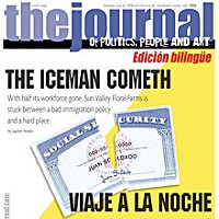 The Iceman Cometh On the cover: graphic by Holly Harvey