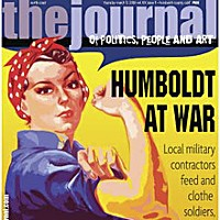 "Humboldt At War On the cover: Illustration by Holly Harvey from original WWII-era ""Rosie the Riveter"" poster"