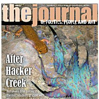 After Hacker Creek On the cover: Salamander photo by Kym Kemp; oil slick leaf graphic by Holly Harvey.