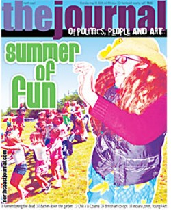 On the cover:McKinleyville Parks and Recreation Kids Camp, submitted photo; dancing at Organic Planet Festival by Bob Doran. Montage by Holly Harvey.