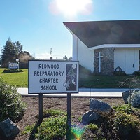 Charter School Rift One of the county's newest charter schools, Redwood Prep is housed — for now — at Fortuna Church of the Nazarene. Photo by Ryan Burns