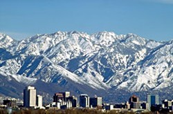 Photo of Salt Lake City skyline by Frank Jensen. Courtesy Utah Office of Tourism.