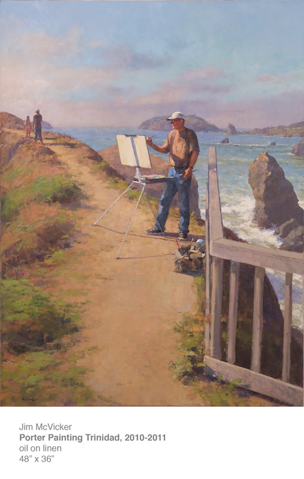 Porter Painting Trinidad - OIL PAINTING BY JIM MCVICKER
