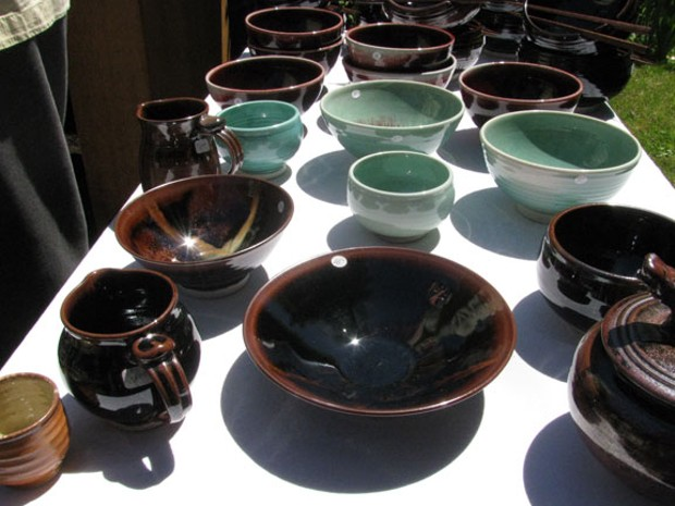 Pottery by Mark Young - HOLLY HARVEY