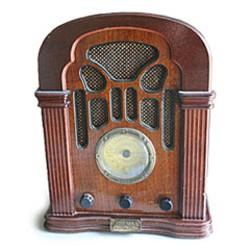Radio from KHSU's collection, photo by Bob Doran