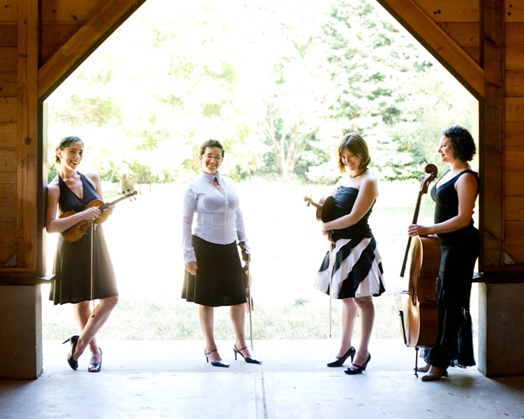 Real Vocal String Quartet - PHOTO BY LENNY GONZALEZ