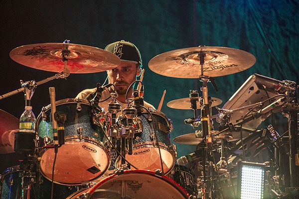 Joseph Dickens of Iration performing at the 30th Annual Reggae On The River 2014, Saturday Aug. 2.