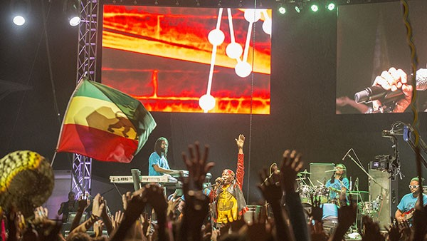 Reggae legend Jimmy Cliff headlining night two of the 30th Annual Reggae On The River 2014, Saturday Aug. 2.