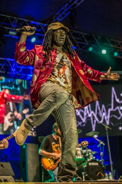 Alpha Blondy closing out the 30th Annual Reggae On The River 2014, Sunday Aug. 3.