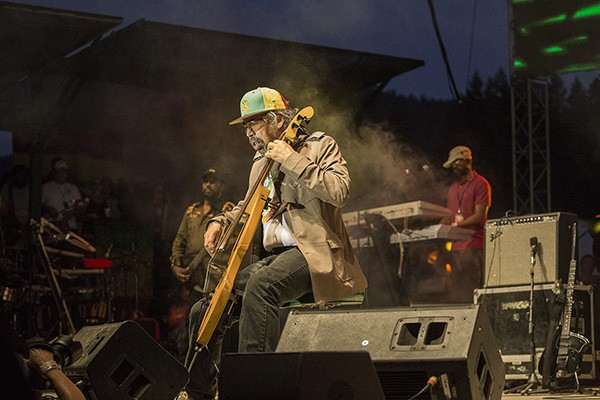 "Stephen ""Cat"" Coore of the Jamaican group Third World, performing at the 30th Annual Reggae On The River 2014, Saturday Aug. 2."