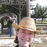 Saving Sam Sam at the Garden of Eden in Kansas. Photo courtesy Elaine Holmes