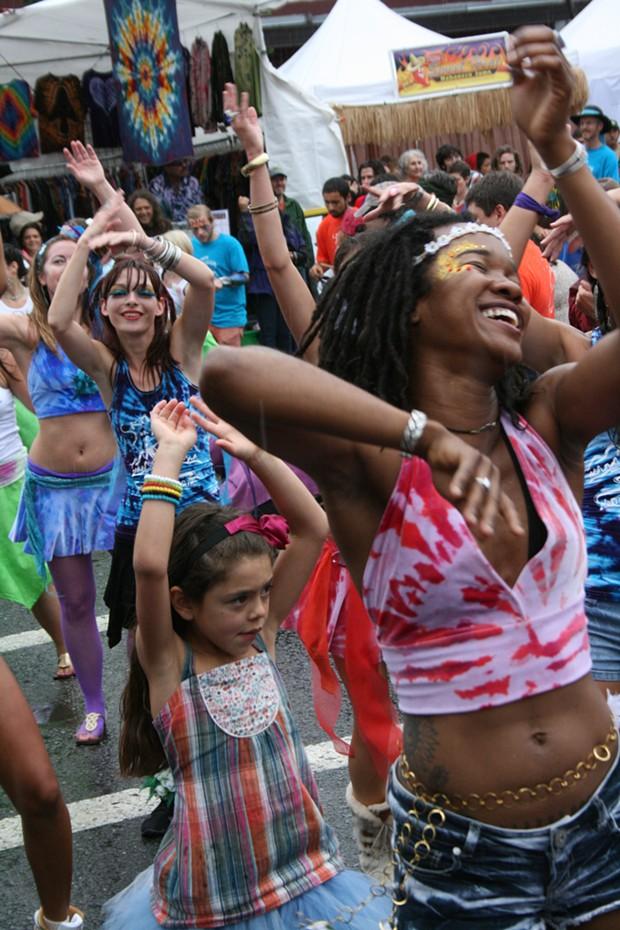 Samba dancers - PHOTO BY BOB DORAN