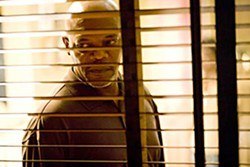 Samuel L. scowls in 'Lakeview Terrace'