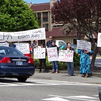 Scenes From Tribes' MLPA Protest