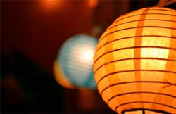 See the light in Morgin Coonfield's photo of lanterns at McKinleyville High School's two-part exhibition.