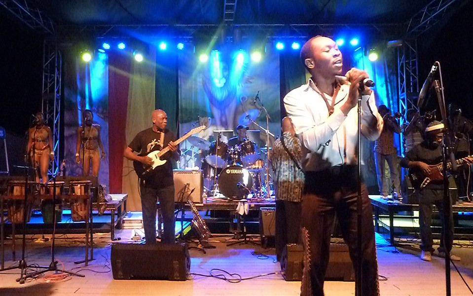 Seun Kuti and Egypt 80 at Reggae on the River - PHOTO BY BOB DORAN