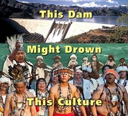 WINNEMEM WINTU TRIBE - Shasta Dam raise poster