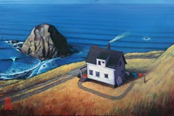 "Shawn Griggs' paintings at the Morris Graves Museum of Art speak to his ""infatuation"" with the North Coast's beauty."