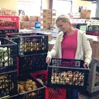 Shawna Miller, a Welfare Work Experience Employee at Food for People, started out as a volunteer.