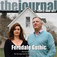 Ferndale Gothic She runs the newspaper. He's the mayor and the freshly ousted fair manager. It's messy. photo by Drew Hyland