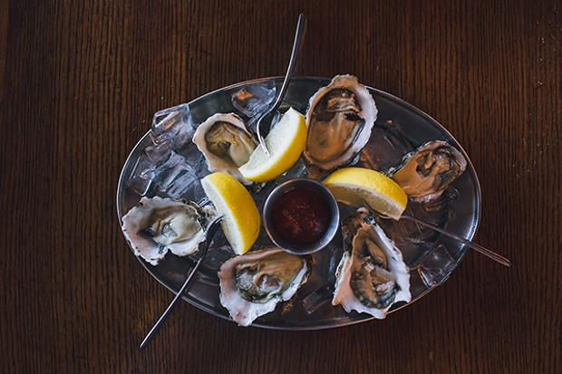 Dale recommends eating Kumamoto oysters fresh and straight from the shell. - PHOTO BY LEÓN VILLAGÓMEZ