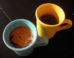 Sipping chocolate for chocolistas and other upstarts. - JENNIFER FUMIKO CAHILL