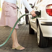 Unspoken Dangers Some doctors advise pregnant women to let someone else pump the gas. photoillustration by Holly Harvey/North Coast Journal