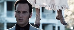 Someone needs a pedicure. Patrick Wilson (and feet) in The Conjuring.