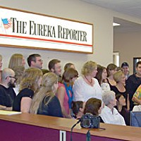 Top 10 Stories of 2008 Staff of the Eureka Reporter, NCJ file photo
