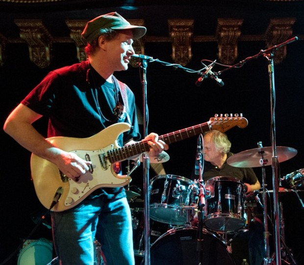 Steve Kimock and Greg Anton - PHOTO BY BOB MINKIN