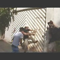 Murder in Oaxaca — We know who murdered independent journalist Brad Will. Why are his killers still Still from Brad Will's final 16 1/2 minutes of footage: Busting in