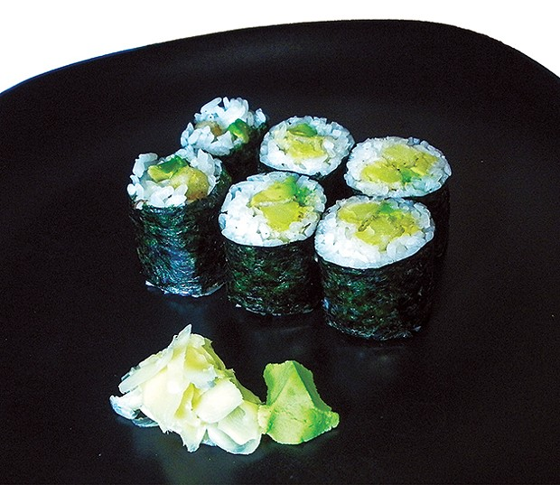 Sushi For The Gluten Challenged