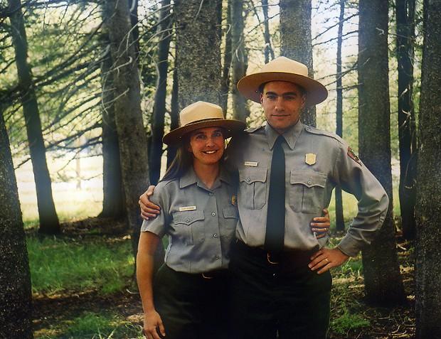 Suzie and Hank Seemann at Tuolumne Meadows, Yosemite National Park, August 2003. - PHOTO COURTESY HANK SEEMANN.