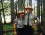 Suzie and Hank Seemann at Tuolumne Meadows, Yosemite National Park, August 2003.