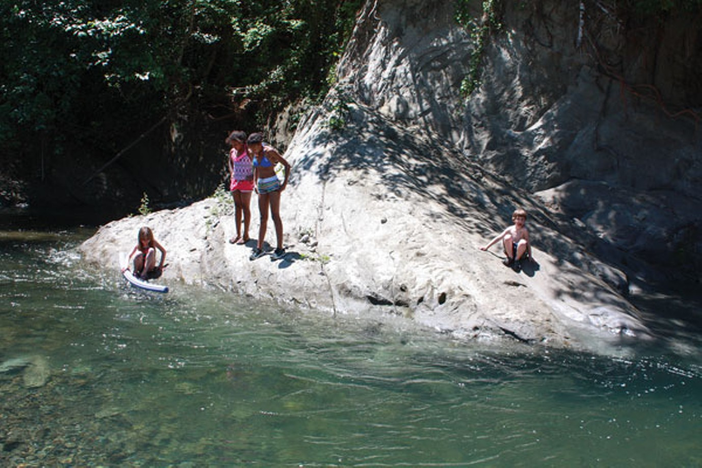 Swimmer's Delight, voted Best Swimming Hole in 2013 by North Coast Journal readers. - PHOTO BY CHRISTIAN PENNINGTON