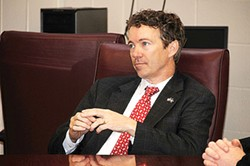 PHOTOS COURTESY RAND PAUL'S WEBSITE