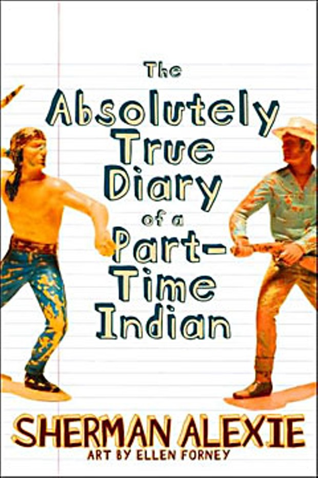 'The Absolutely True Diary of a Part-Time Indian' by Sherman Alexie