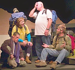The cast of Ferndale Repertory Theatre's 'Wild Guys'