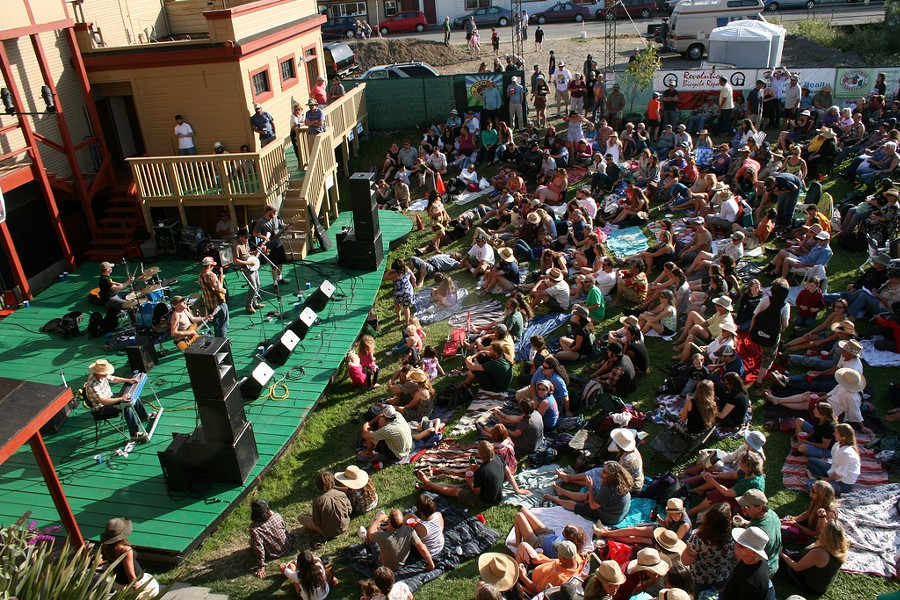 The crowd at Folklife 2012. - PHOTO COURTESY OF HUMBOLDT FOLKLIFE SOCIETY