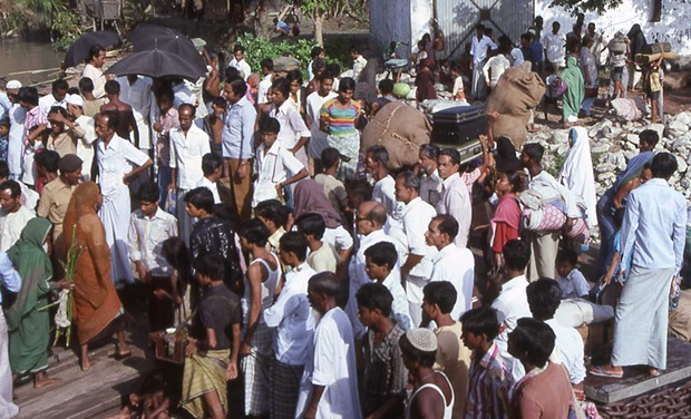 The fast-food revolution hadn't reached Bangladesh when I visited there 25 years ago. - PHOTO BY BARRY EVANS