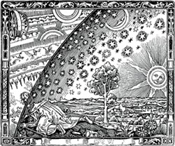 The Flammarion engraving.