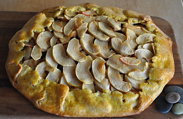The french word galette derives from galet meaning pebble. Photo by Simona Carini