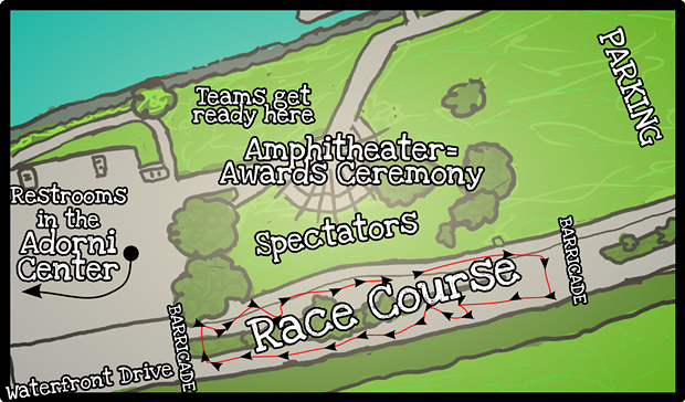 The kid-friendly Kinetic Classic course.