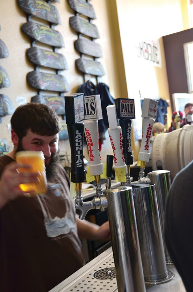 The Local Beer Bar - PHOTO BY DREW HYLAND