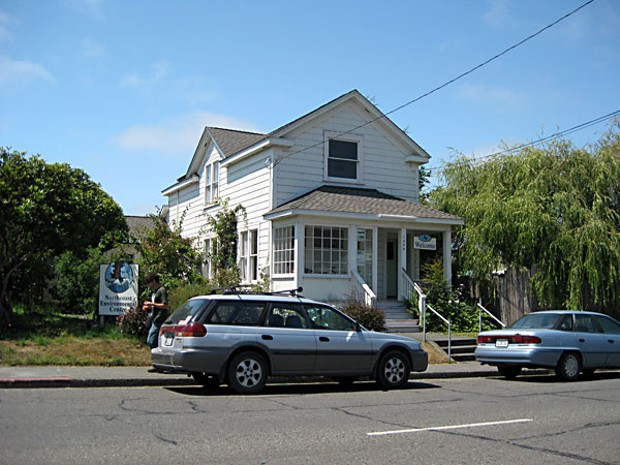 The NEC's house in Arcata. Photo by Lynn Jones.