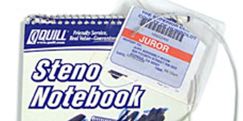 The Notebook of Alternate Juror No. 4