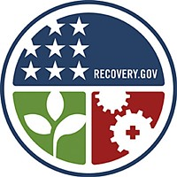 Shovels Ready? The official recovery emblem, unveiled last week by President Barack Obama and Vice President Joe Biden.